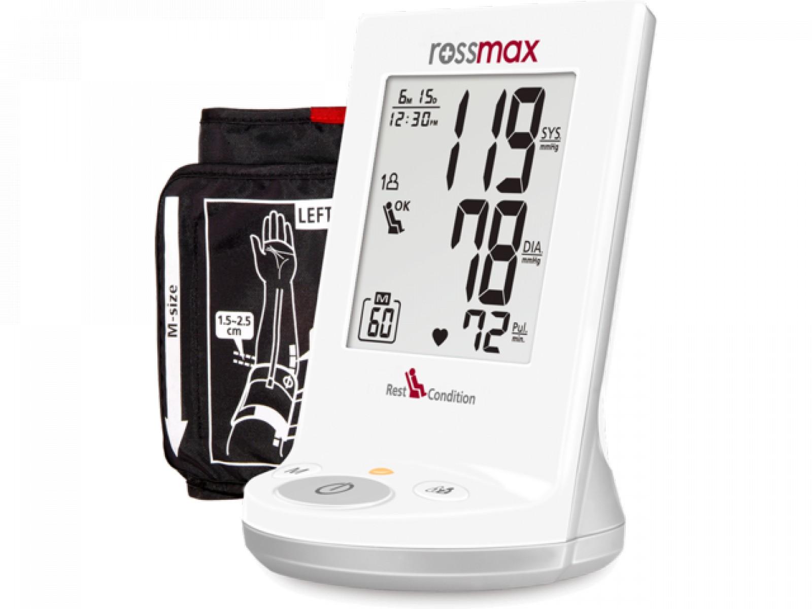 Rossmax Ad761f felkaros vérnyomásmérő - Felkaros vérnyomásmérő