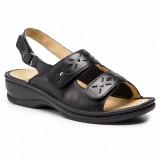 Scholl Joline női fekete szandál Papucs, - cipő SCHOLL