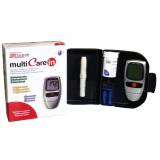 Multicare in vércukormérő, - koleszterinmérő, - trigliceridszintmérő szett Vércukormérő MULTICARE