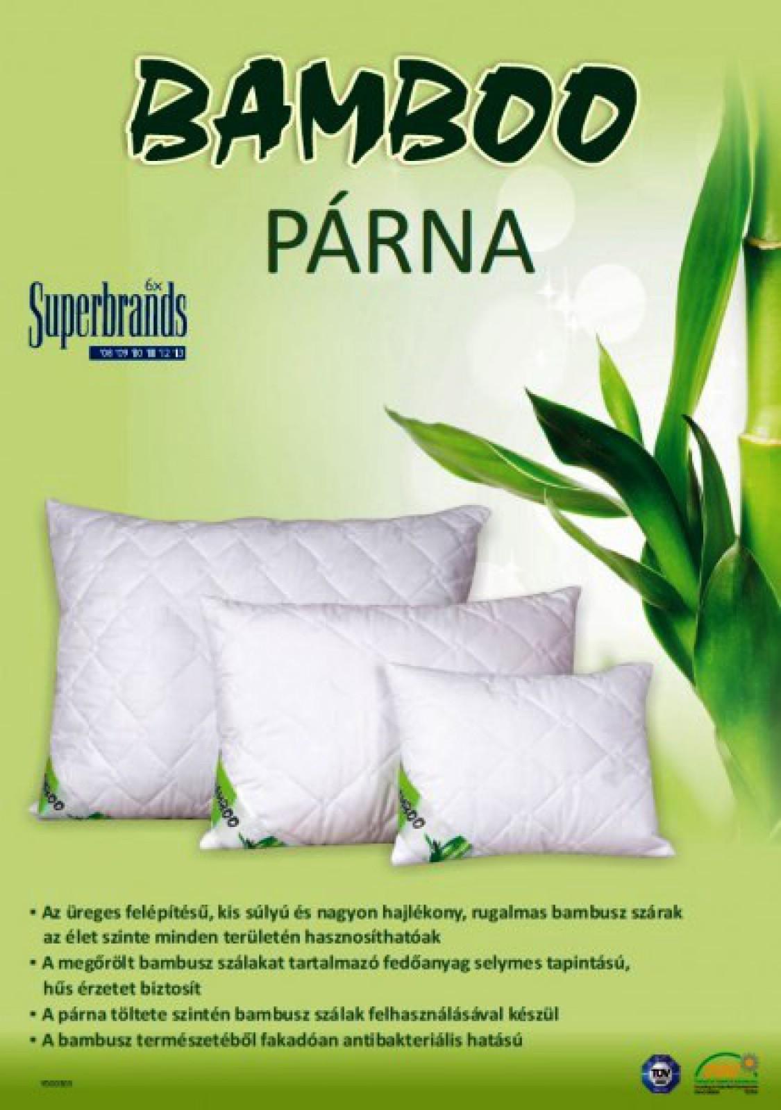 Bambuszos kispárna 40x50  200g - Párna Gyógyászati termékek Webáruháza 7463b74e6a