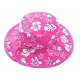 Baby,-Kidz Banz gyermek nyári sapka (pink virágos- pink) Baba termékek BABY BANZ