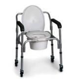 WC-szék, gurulós (RP762) -WO Gyógyászati segédeszköz
