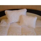Antiallergén téli ágynemű garnitúra (2 részes, 135x190+50x70) Ágynemű, - textil NAPFÉNYPAPLAN