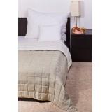 Bőrhatású ágytakaró 140x240cm (Moha-krém) Ágynemű, - textil NATURTEX