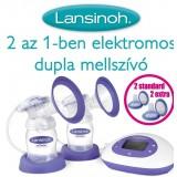 Lansinoh elektromos dupla mellszívó Baba termékek LANSINOH