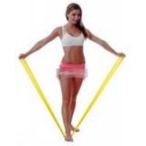 Fit-Band gumiszalag Sárga, (Gyenge 150cm) Fitness termék FIT-BAND