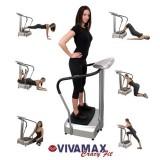 Vivamax Crazy Fit vibrációs tréner -  GYVF7 Fitness termék VIVAMAX
