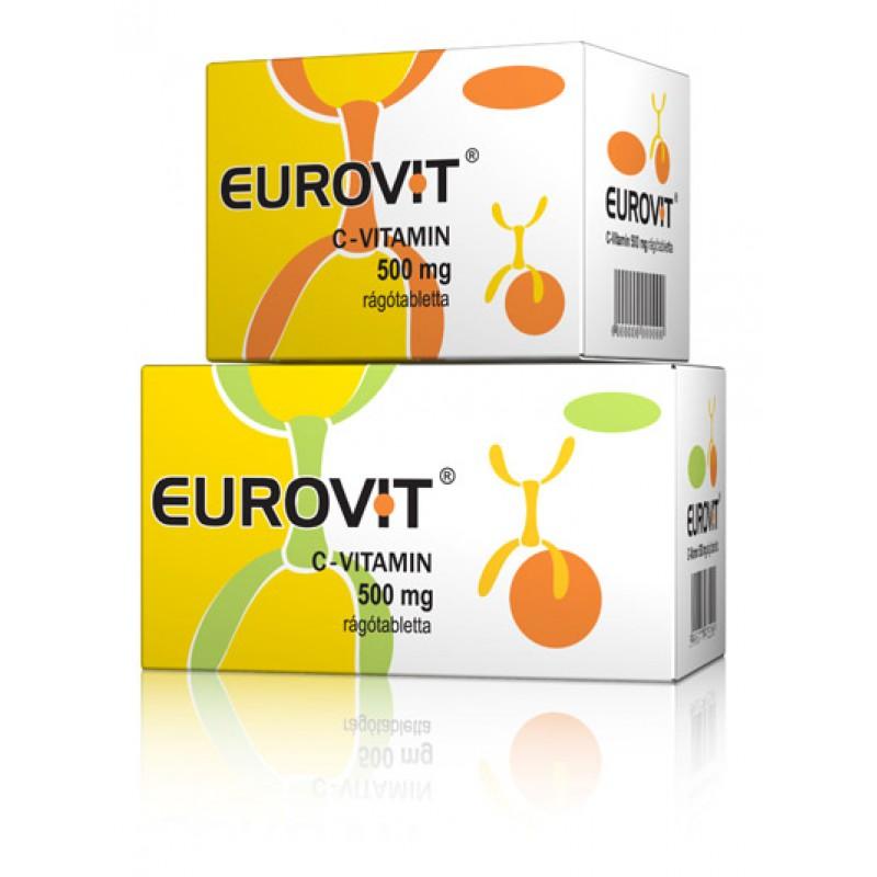 Eurovit C-vitamin 500mg tabletta - 30db
