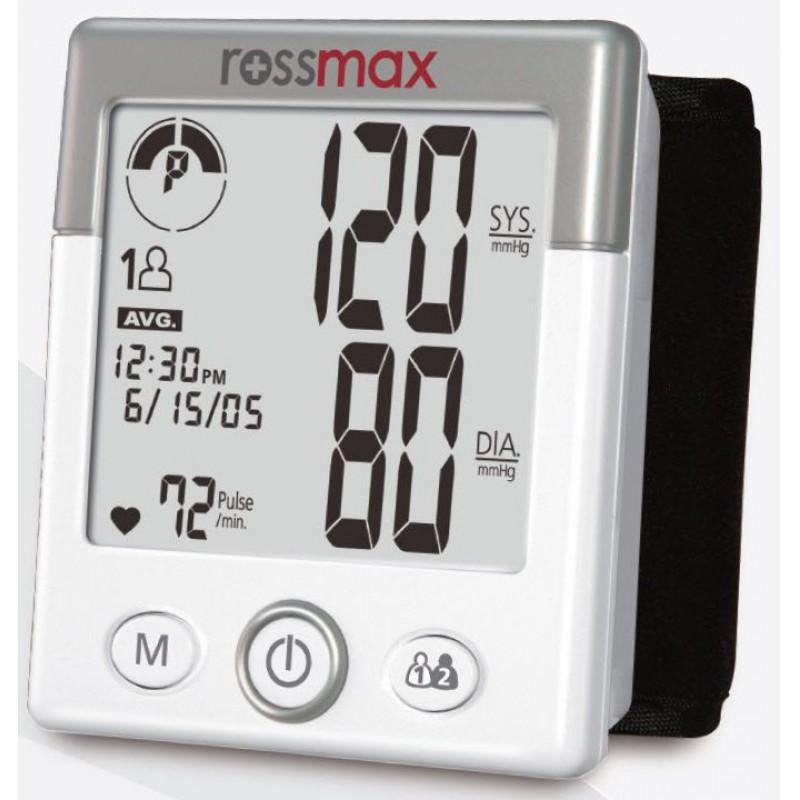 Rossmax BE-701 vérnyomásmérő (csuklós) - Csuklós vérnyomásmérő
