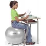 Fitball ülő labda talppal 65 cm Tartásjavítás FITBALL