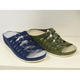 Biokomfort Nubuk Női papucs Papucs, - cipő BIOKOMFORT