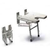 Falra szerelhető tusoló ülőke - DKS-130 (WE) Gyógyászati segédeszköz WELLMED