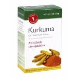 Kurkuma Extraktum 100mg - napi 1 kapszula Táplálék kiegészítők