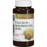 Calcium +Magnesium +Zinc 333/133/8 (100db) Táplálék kiegészítők WELLMED