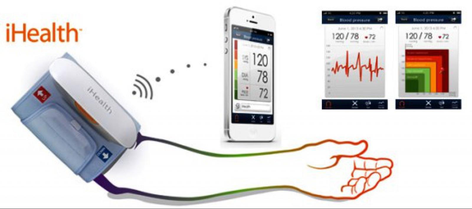 iHealth BP5 vérnyomásmérő (okostelefonhoz) - Mobil..