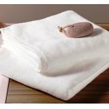 Fehér törölköző - bordűr nélkül (50x100) Ágynemű, - textil NATURTEX