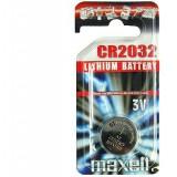 CR2032 gombelem - Maxell Vércukormérő MAXELL