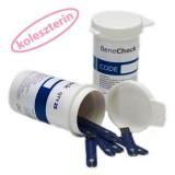 BeneCheck koleszterin csík (10 db) Vércukormérő BENECHECK