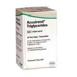 Accutrend - triglicerid tesztcsík  (25db) Vércukormérő ACCUTREND