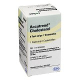 Accutrend - koleszterin tesztcsík  (5db) Vércukormérő ACCUTREND