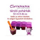 Clevamama fagyasztó pohár (8db) Baba termékek CLEVAMAMA