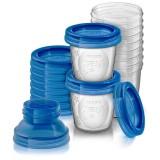 Avent via - anyatej tároló rendszer (10 db) Baba termékek PHILIPS AVENT
