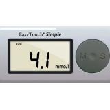 Wellmed Simple vércukorszintmérő Vércukormérő EasyTouch