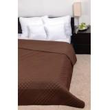 Clara Microfiber ágytakaró - kocka steppelés 235x250 Ágynemű, - textil NATURTEX