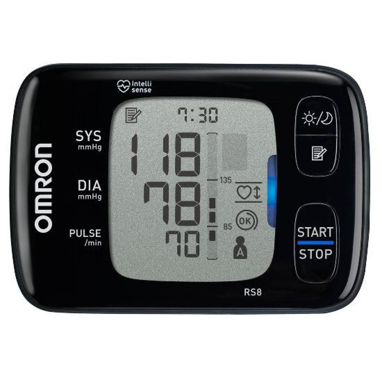Omron RS8 automata csuklós vérnyomásmérő