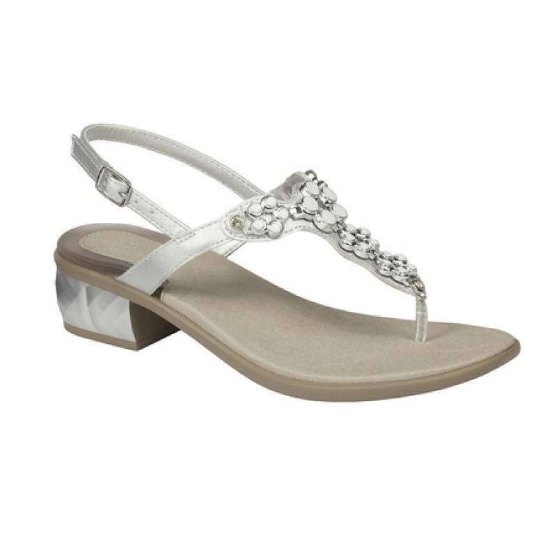Scholl Dollie lábujjközös szandál ezüst